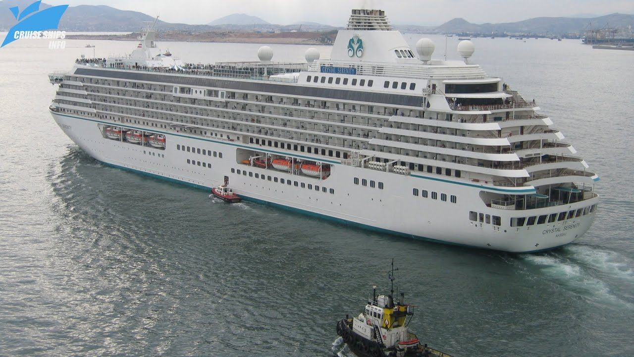 World Cruise on the Crystal Serenity
